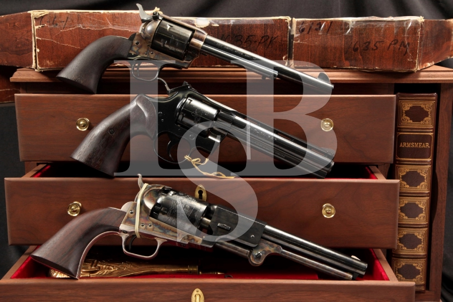 US Bicentennial Cased Colt Set Python, Single Action Army