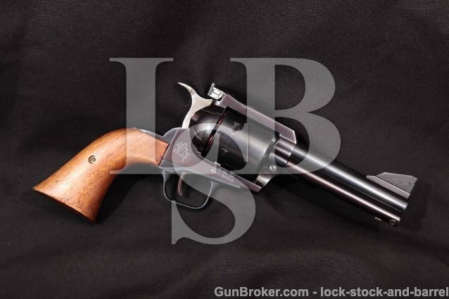 "United Sporting Arms USA Qwik-Set Seville .45 Colt Blue 4 1/2"" Single Action Revolver, MFD 1983-1986"