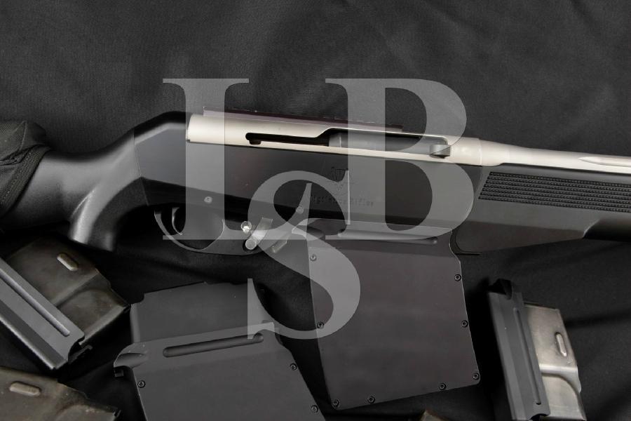 "Vigilance Rifles VR1 Precision Sniper, CA. Legal, 6 Mags, Muzzle Brake, Fluted Stainless 27"" Custom Built Semi Automatic Rifle, MFD 2006"
