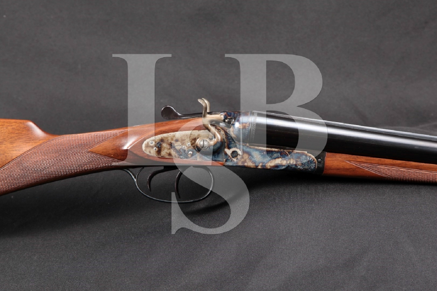 "Vincenzo Bernardelli Model Brescia Hammer Double Barrel, Blue & Case Colored 2 ¾"" Side by Side SXS Double Barrel Shotgun, MFD 1985"