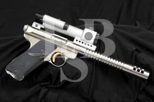 Volquartsen Custom Ruger Mark MK II .22 LR Semi-Auto Target Pistol & Scope
