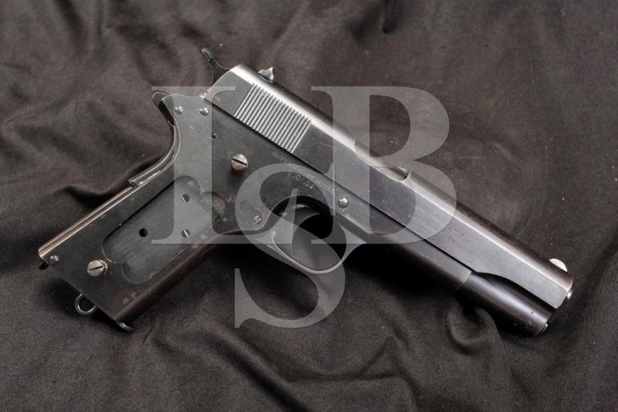 WWI Colt Government Model 1911 -- .455 Webley R.A.F. Royal Air Force Marked - C&R OK