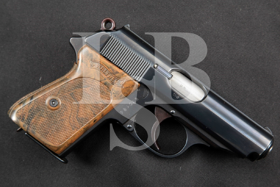 "Walther RZM Marked NSDAP Model PPK, SHARP Blue 3 5/16"" .32 Auto RARE SA/DA Semi-Automatic Pistol, MFD 1935 C&R"