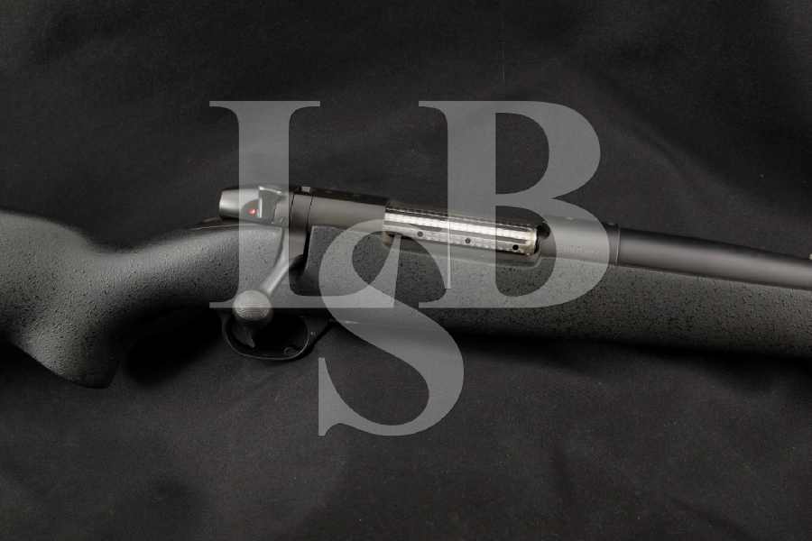 "Weatherby Atascadero U.S.A. Model Mark V MKV Dangerous Game, Black Oxide Compensated 24"" 9-Lug Bolt Action Internal Magazine Fed Rifle"