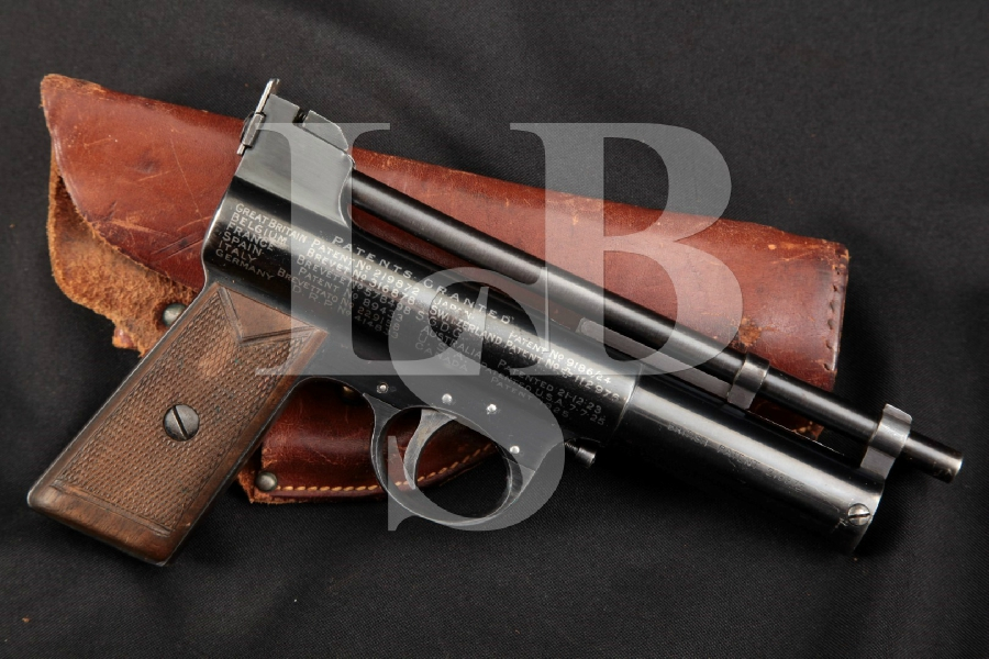 Webley & Scott Mark II Target Air Pistol, Blue .22
