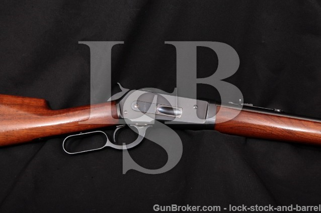"Winchester 1886 Extra Lightweight Takedown, .45-70 Blue 22"" Tapered Round Barrel, MFD 1911 C&R"