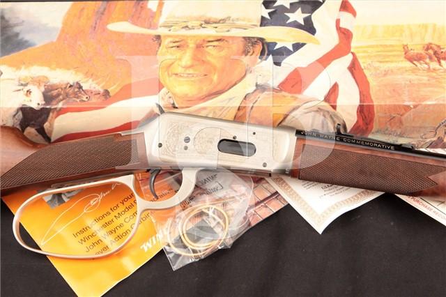 Winchester 1894 94 John Wayne Commemorative .32-40 Lever Action Rifle & Box, MFD 1981, ATF C&R OK