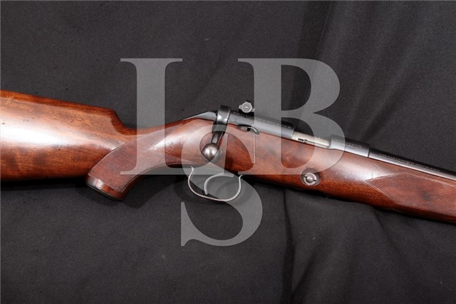 "Winchester 52B Sporting Rifle Order Number 5262 .22 LR Blue 24"" Bolt Action Rifle, MFD 1937 C&R"