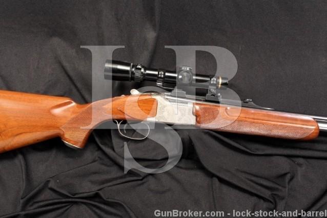 Winchester Grand European Model XTR .30-06 SPRG O/U Over / Under Double Rifle & Leupold Scope