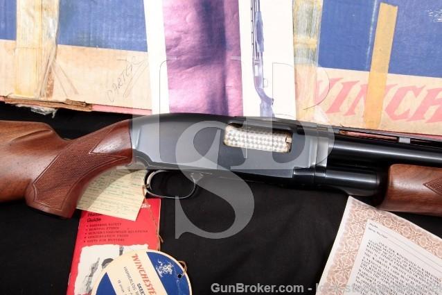 "Winchester Model 12 1912 Skeet 26"" Vent-Rib 12 Ga Pump Action Takedown Shotgun & Box, MFD 1974"