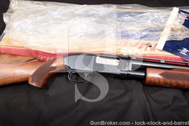 "Winchester Model 12 1912 Trap, Blue 30"" 12 Gauge Vent-Rib Pump Action Takedown Shotgun & Box, 1974"