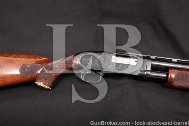 "Winchester Model 12 Pigeon Grade Skeet Gun 1969 Blue 26"" Vent-Rib Pump Action Shotgun, 12 Gauge"