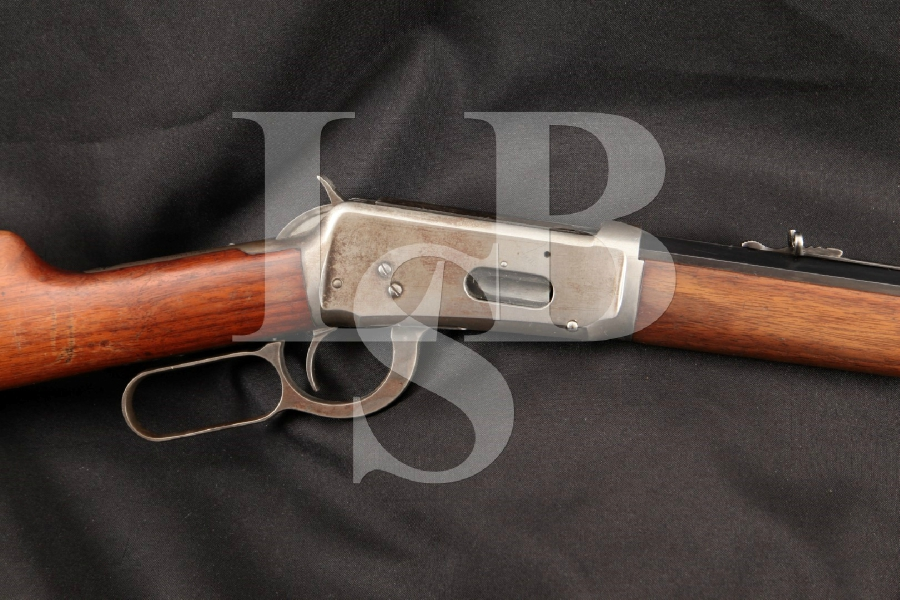 "Winchester Model 1894 M1894 M94, Pre-WWI Octagonal Blue 26"" Lever Action Tube Magazine Fed Rifle, MFD 1912 C&R"
