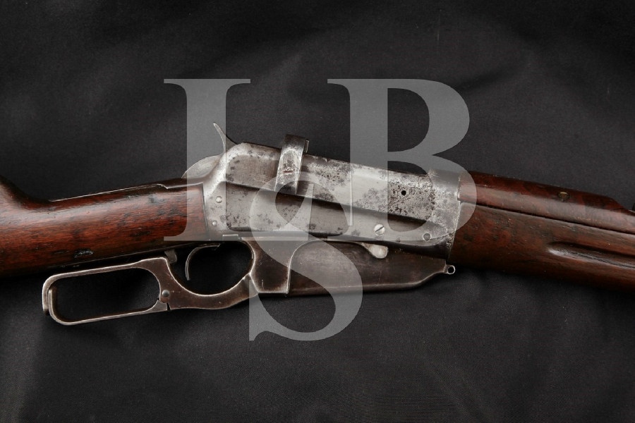 "Winchester Model 1895 Russian Musket & Charging Bars, Blue 28"" Lever Action Military Service Rifle, MFD 1915 C&R"