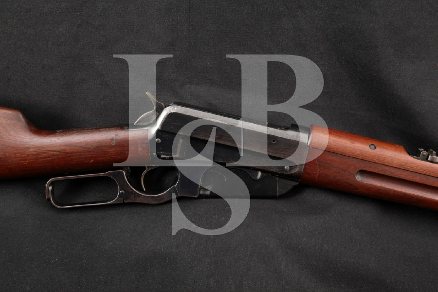 """Winchester Model 1895 Saddle Ring Carbine U.S. Marked, Blue 22"""" RARE Lever Action Rifle & Letter, MFD 1899 C&R"""