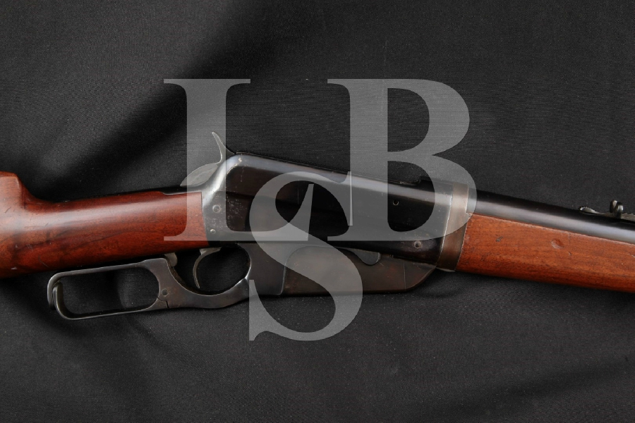 """Winchester Model 1895 Takedown, Blue 24"""" Lever Action Rifle, MFD 1914 C&R"""