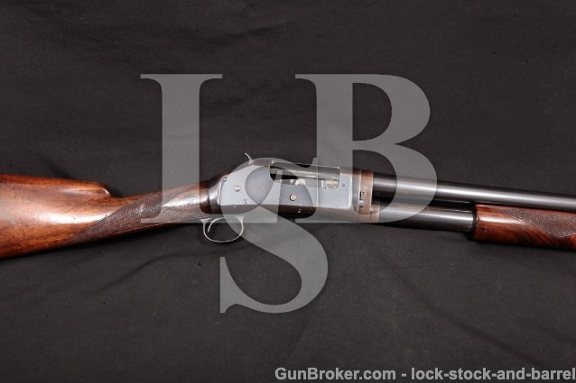 "Winchester Model 1897 Black Diamond 30"" Takedown Original 12 Gauge Matted Barrel & Rib, MFD 1910"