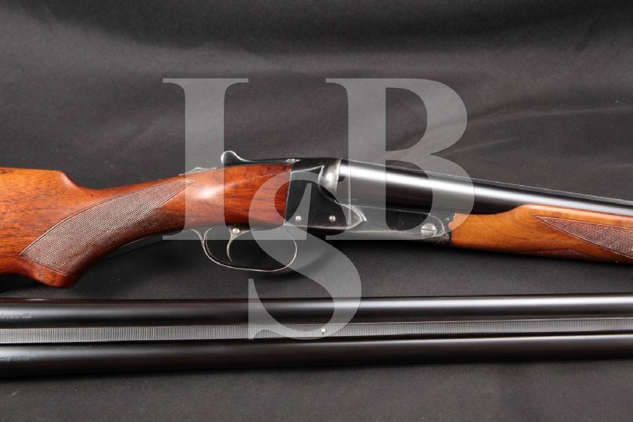 "Winchester Model 21 Double Barrel SXS Side by Side Blue M x IC 28"" SxS Shotgun & Extra 26 Barrel, MFD 1935 C&R"