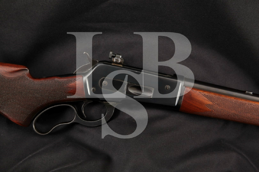 "Winchester Model 71 M71, Lyman Sight & Beautiful Checkered Stocks, Blue 24"" Lever Action, Tube Fed Shotgun, MFD 1951 C&R"