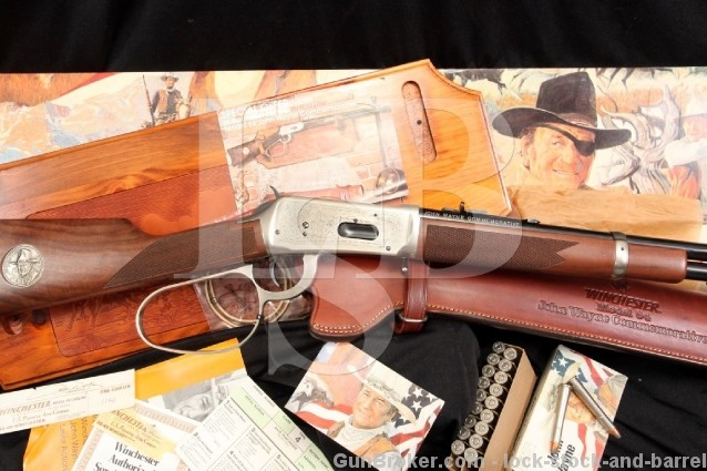 Winchester Model 94 1894 John Wayne Commemorative .32-40 Lever Action Rifle - All Extras - C&R OK
