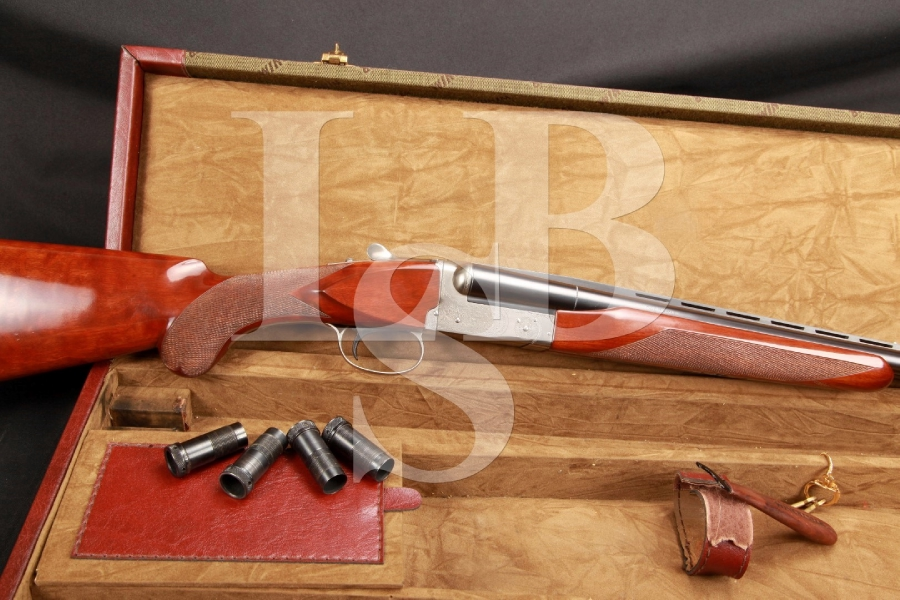 Winchester, Pigeon, Grade, Model, 23, XTR, 20, Gauge, SxS, Side, by, Side, Shotgun, Single, Selective, Trigger, Chokes, Case