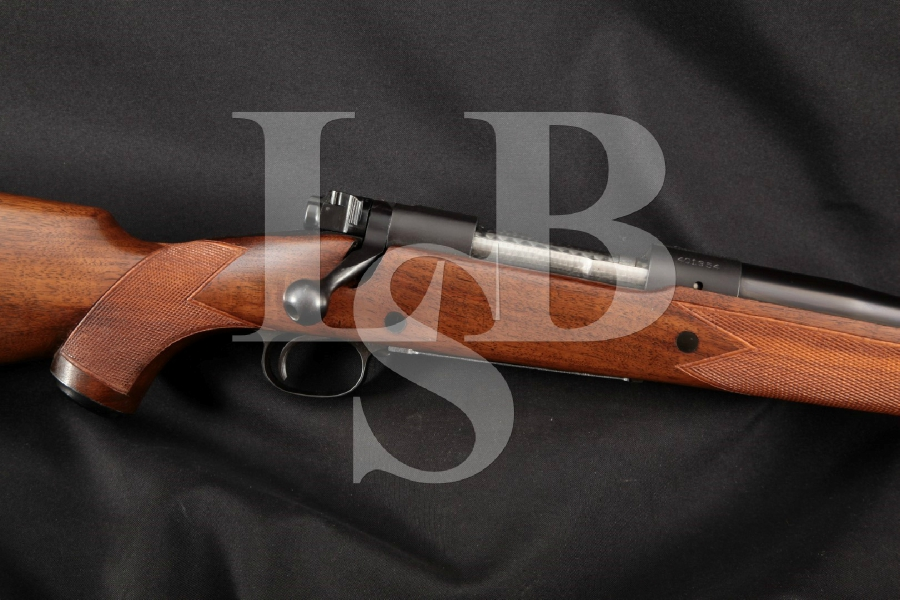 "Winchester Pre-64 Model 70 M70 Super Grade, Blue 25"" Bolt Action Internal Magazine Rifle, MFD 1957 C&R"