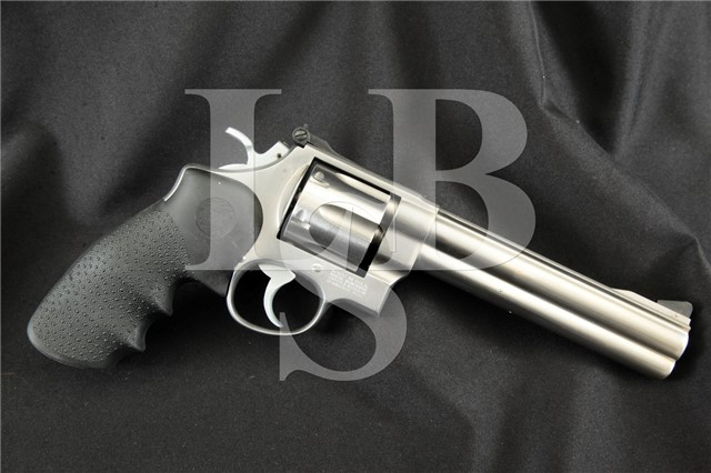 """mith & Wesson S&W Model 610 10mm Stainless 6.5"""" SA/DA Double Action Revolver, MFD 1989-2004"""