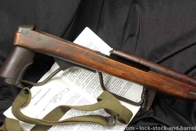 Original M1A1 M1 Carbine Paratrooper Folding Stock