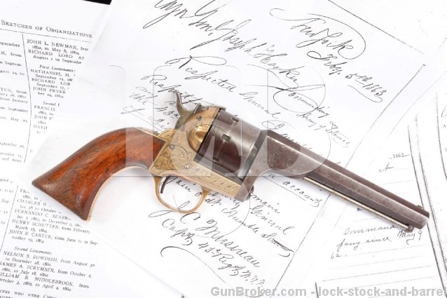 Inscribed & Identified Moore's S&W .32 Rimfire SA Smith & Wesson Single Action Revolver - Antique
