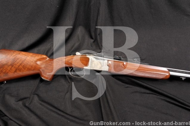 Winchester Grand European Model XTR .270 Win. O/U Over / Under Double Rifle & Scope Bases