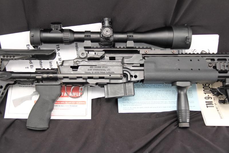 Springfield M1A US Config. EBR -- Like M14 Enhanced Battle Rifle 7.62 Nato .308